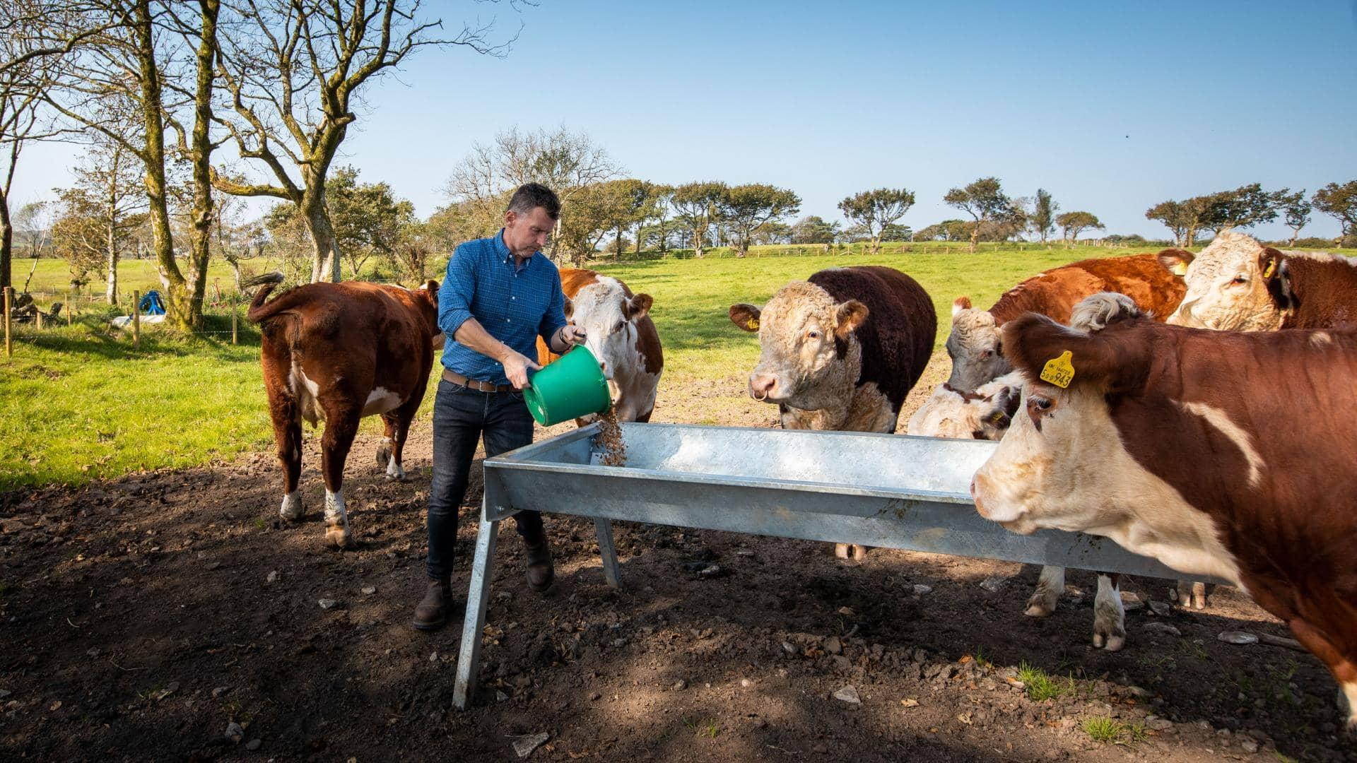 NIgel Owens MBE, Sustainabilty Through Agri-Tech
