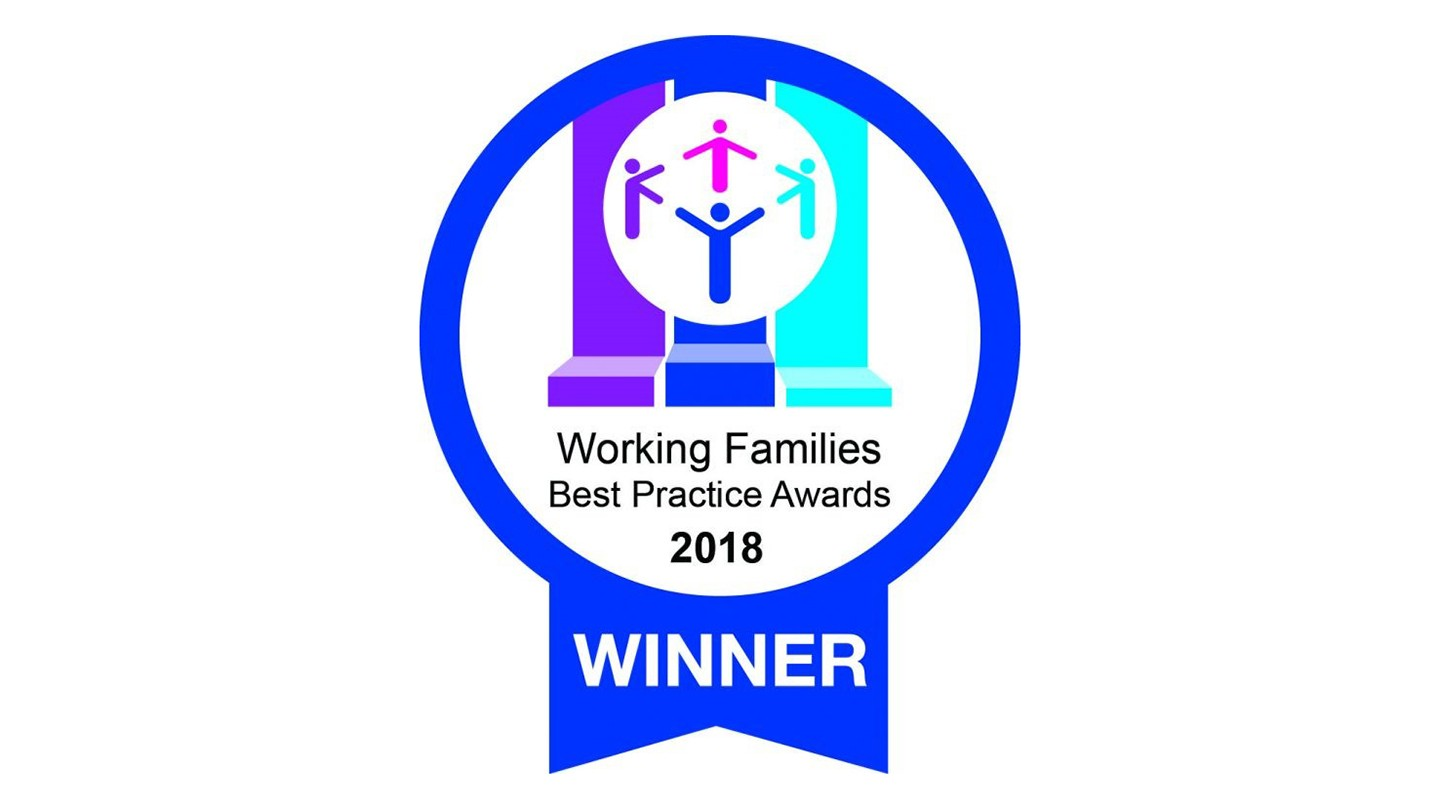 Working families award logo