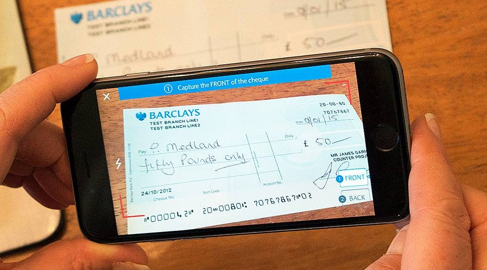 Barclays cheque 2016