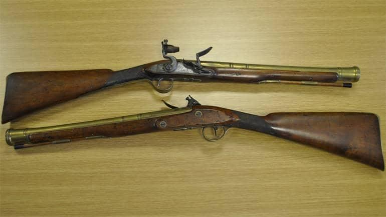 Firearms from the 18th and 19th century