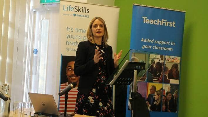 Kirstie Mackey, Director of Barclays LifeSkills