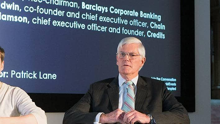 Jeremy Wilson, Vice Chairman of Barclays Corporate Banking, at the Economist's Finance Disrupted conference