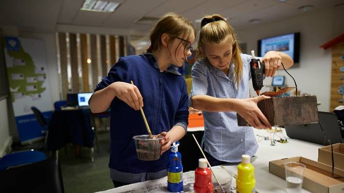 Bournemouth Barclays Eagle Labs afterschool MakerClub