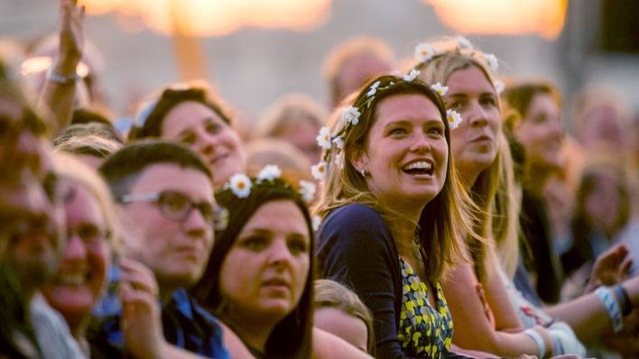 Crowd at Barclaycard presents British Summer Time Hyde Park