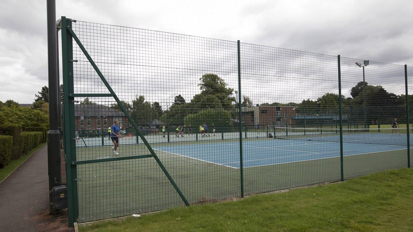 Radbroke Hall tennis courts