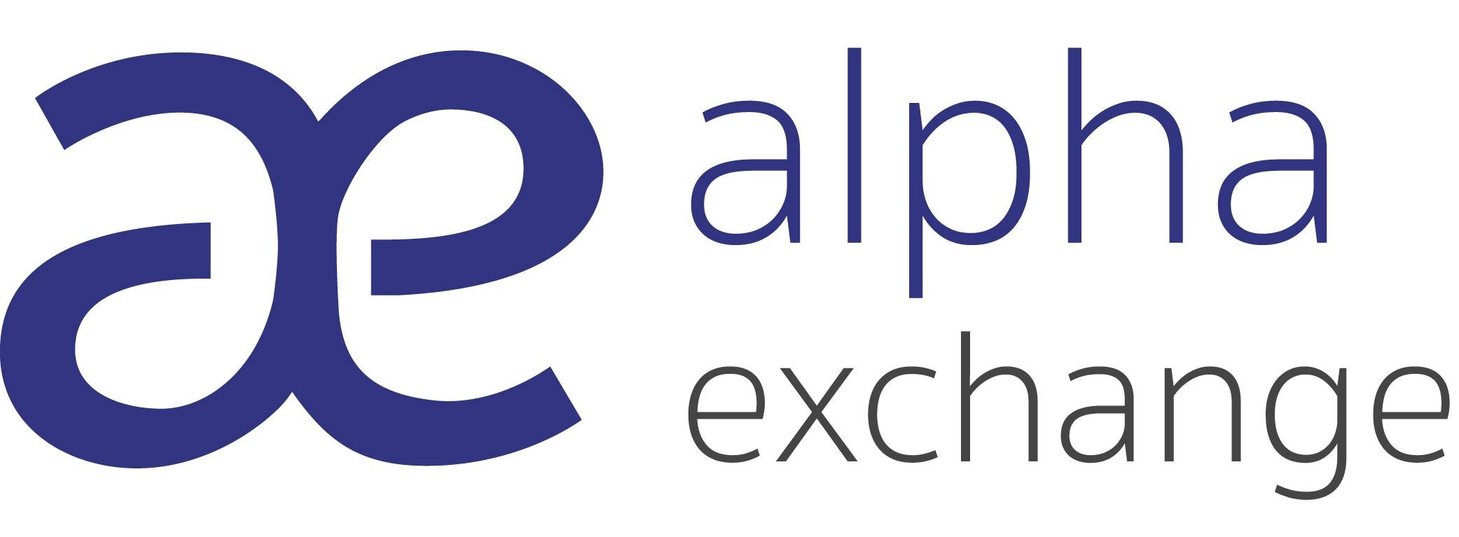 Alpha Exchange logo