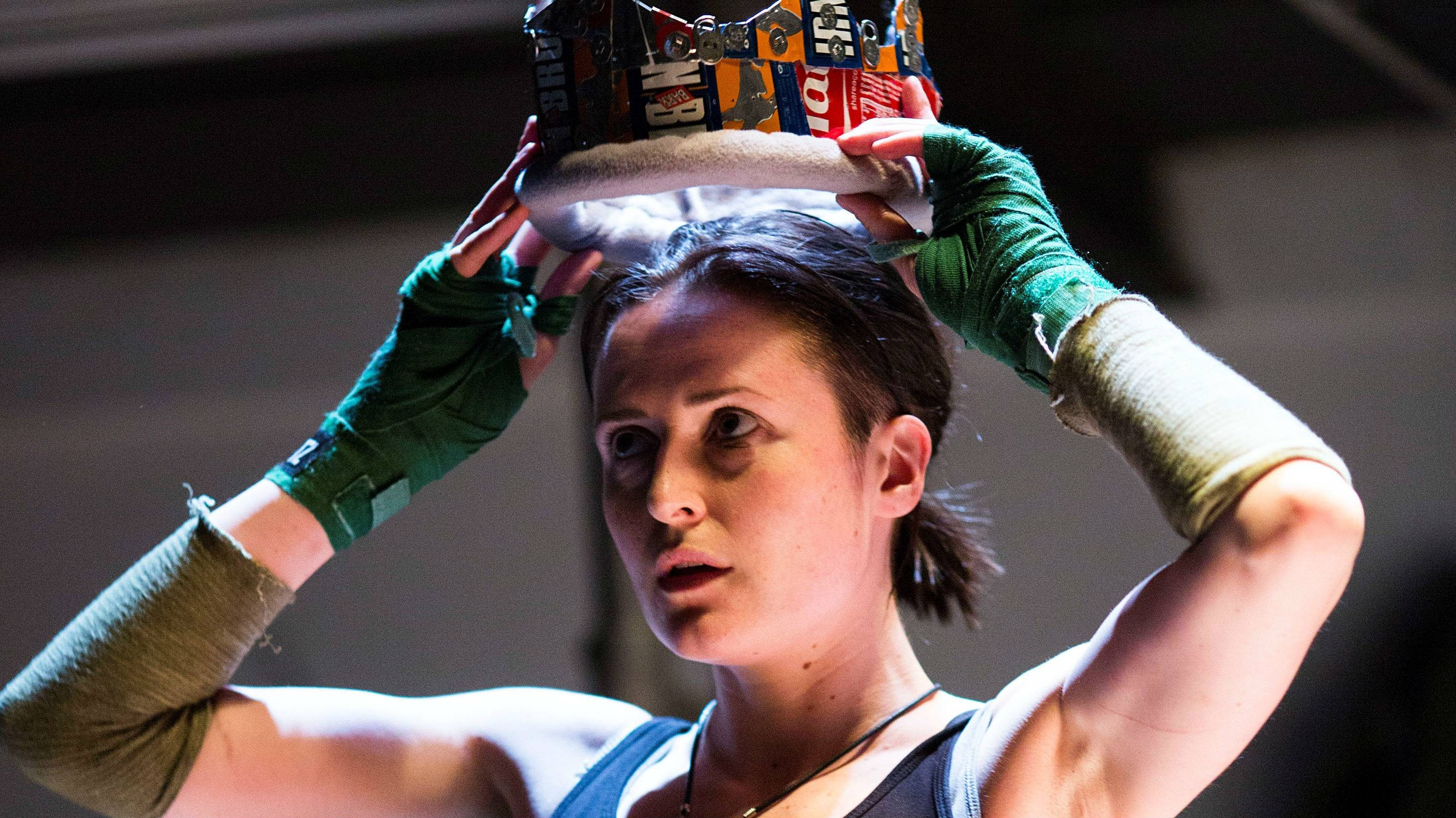 Clare Dunne in Henry IV.