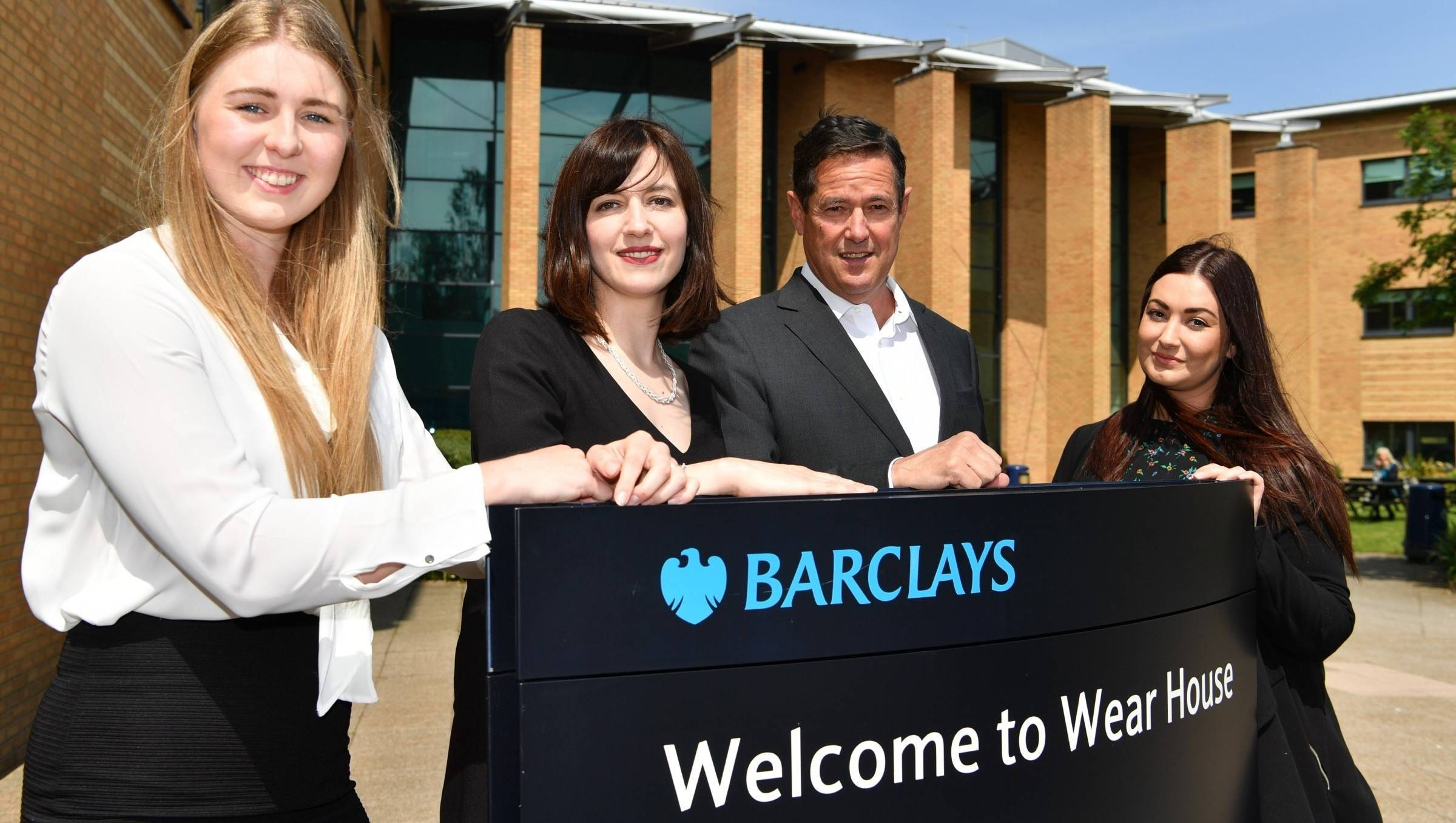 Jes Staley at Barclays Wear House