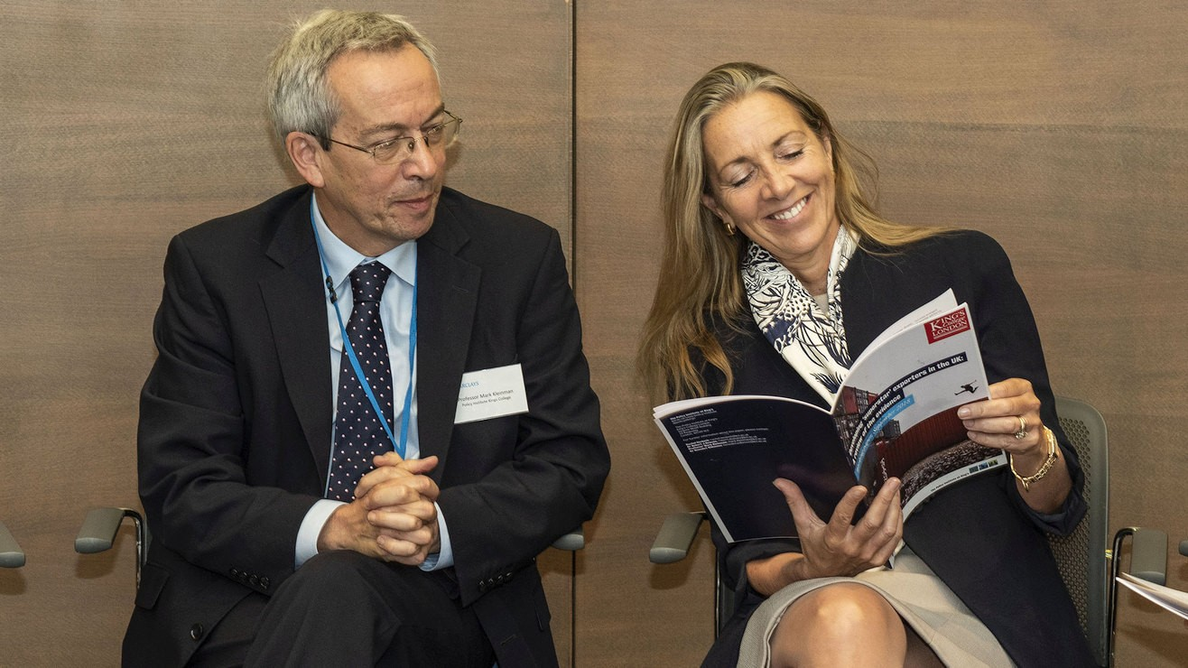 Mark Kleinman, Professor of Public Policy and Director of Analysis, and Rona Fairhead