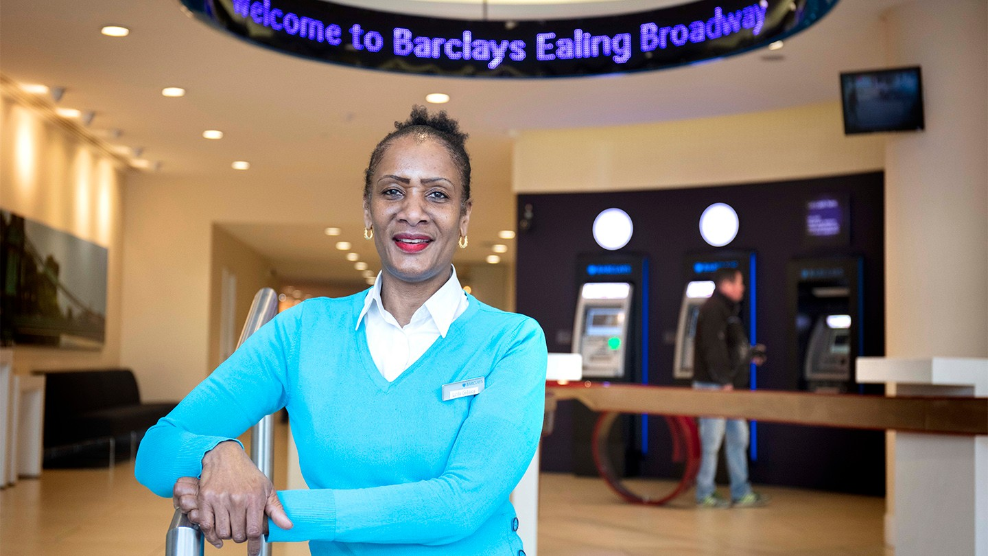 Barclays Apprenticeship graduate Lucille Galloway