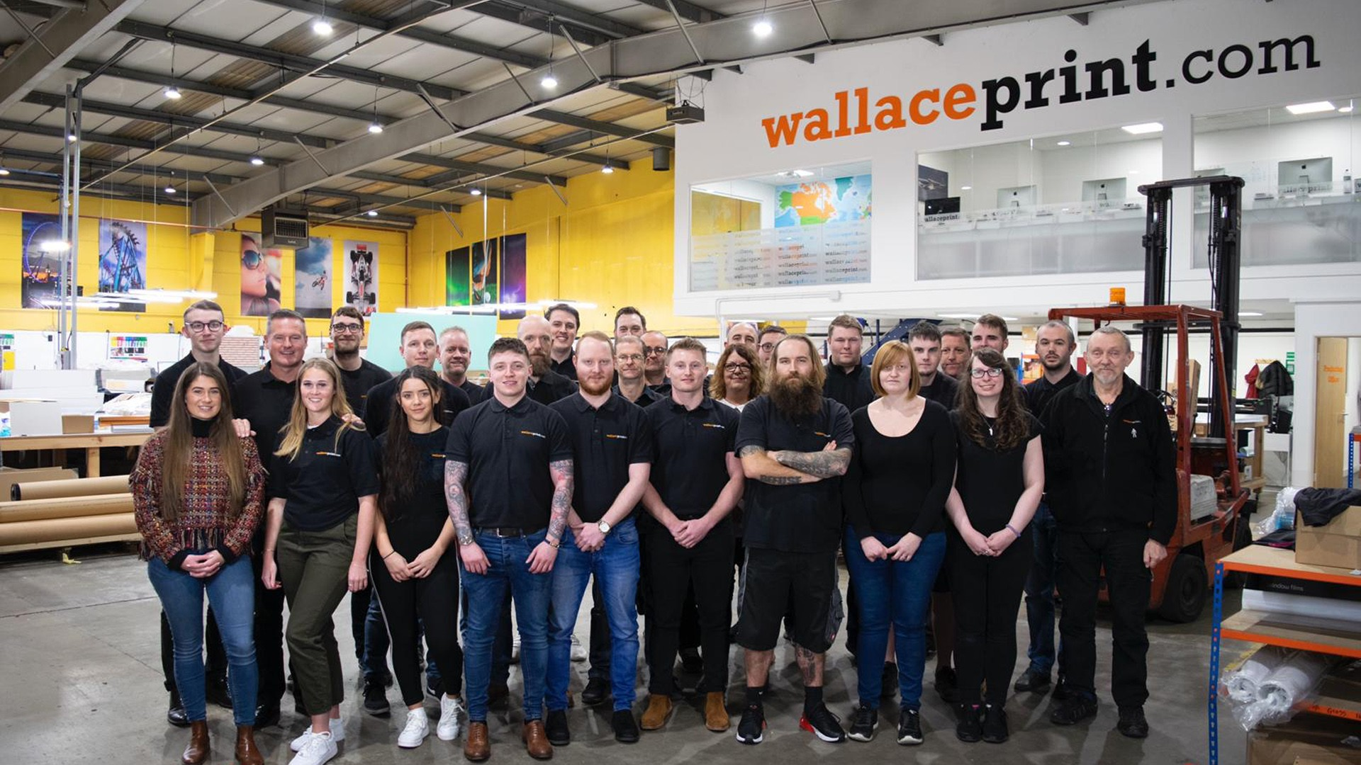 Wallace Print colleagues