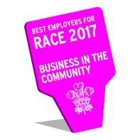 Best employer for race 2017 logo