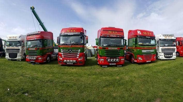 Matlock Transport Company lorries