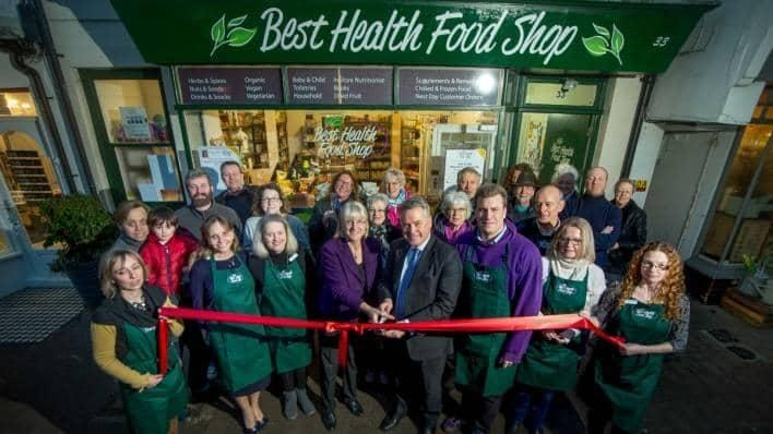 Best Health Food Shop official opening