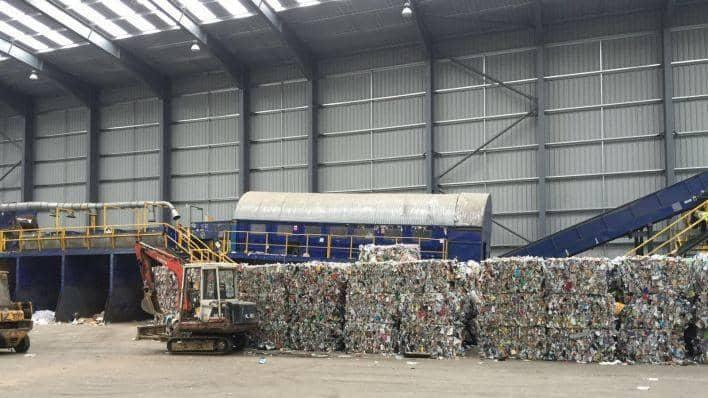 James Waste Management recycling